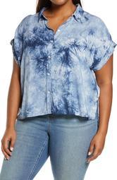 Mod Tie-Dye Short Sleeve Shirt