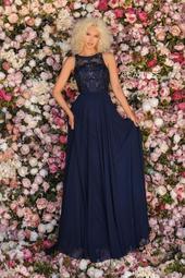 8025 - Prom Dress, Nvy