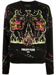 Rorschach gothic sweatshirt