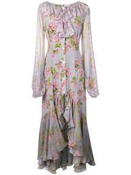 feminine kaftan maxi dress