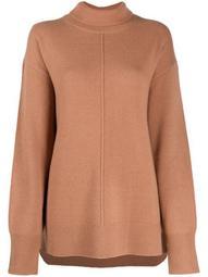 roll-neck wool-knit jumper