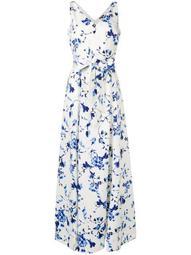 Tivianna floral print gown