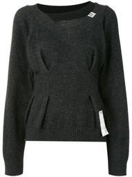 waist tack layered style jumper