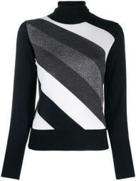 diagonal striped jumper