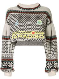 Paradiso cropped knit jumper