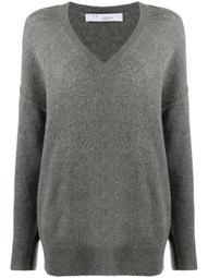 loose-fit v-neck sweater