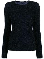 metallized fitted jumper