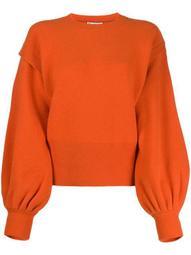 layered sleeves jumper