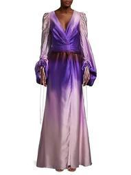 Everett Silk Gown