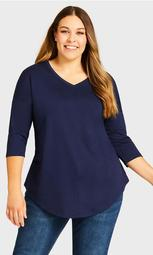 Tammy Top - navy