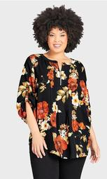Eastbrook Print Top - floral