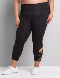 LIVI Soft Capri Legging - Strappy Side