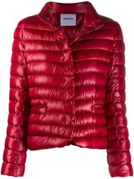 fitted puffer down jacket