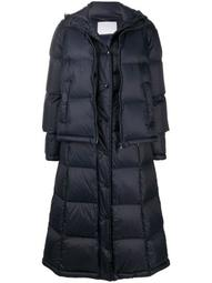 padded jacket with detachable length