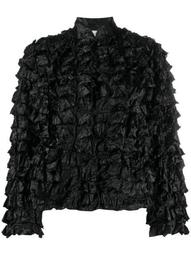 frill effect fitted jacket