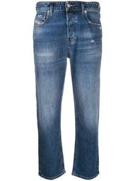 Aryel 009CZ straight cropped jeans