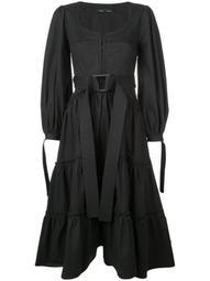 Puff Sleeve Tiered Dress
