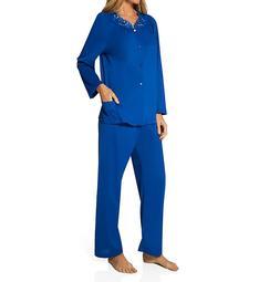 Shadowline Petals Long Sleeve Pajama Set 76283