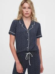 Adult Pajama Shirt in Modal