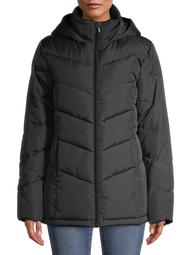 Big Chill Women's Plus Size Chevron Quilted Puffer Short