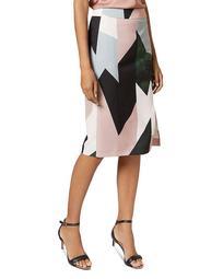 Roxane Sapphire Printed Skirt