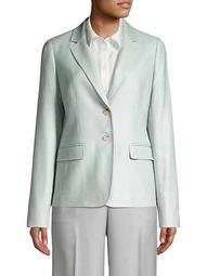 Thatcher Silk & Wool Blazer