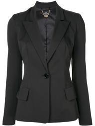 peaked lapels tailored blazer