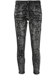 Laser Snake Stack skinny jeans