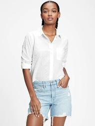 Button-Front Pocket Shirt
