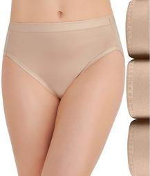 Comfort Where It Counts Hi-Cut Brief 3-Pack