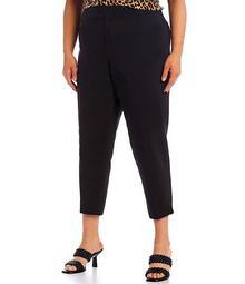 MICHAEL Michael Kors Plus Size Woven Capri Pants