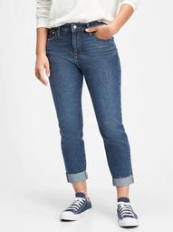 Mid Rise Universal Rigid Slim Boyfriend Jeans
