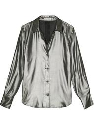 Sedienne metallic effect shirt