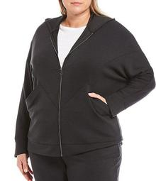 Plus Size Soft Touch Dolman Jacket