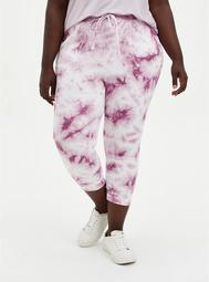 Relaxed Fit Jogger Terry Grape Wash