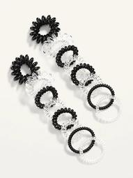 Spiral Hair Ties 16-Pack for Adults
