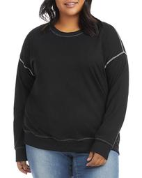 Contrast Stitch Sweatshirt