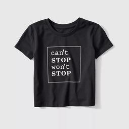 Kid's Can't Stop Won't Stop Graphic Tee