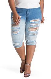 Lelahni Ripped Bermuda Shorts
