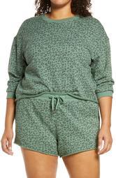 No Cap Leopard Sweatshirt