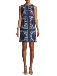 Journey Paisley-Printed Dress