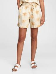 High Rise Pull-On Shorts