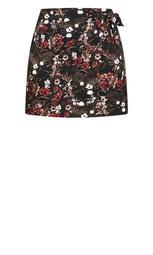 Jungle Tiger Skirt - black