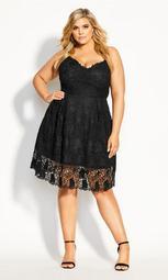Lace Passion Dress - black