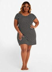 YMI Polka Dot Sleep Shirt