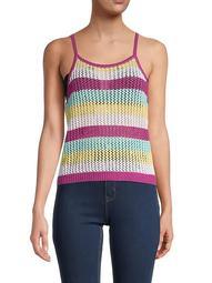 Striped Halterneck Sweater