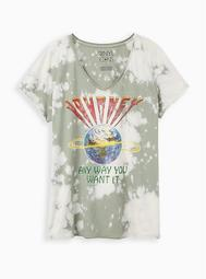 Classic Fit V-Neck Tee – Journey Olive Wash