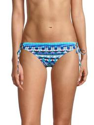 Global Jive Abstract-Print Bikini Bottom