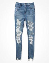 AE Ne(x)t Level Ripped Curvy Super High-Waisted Jegging