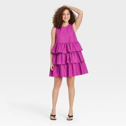 Women's Sleeveless Multi Tiered Dress - Who What Wear™